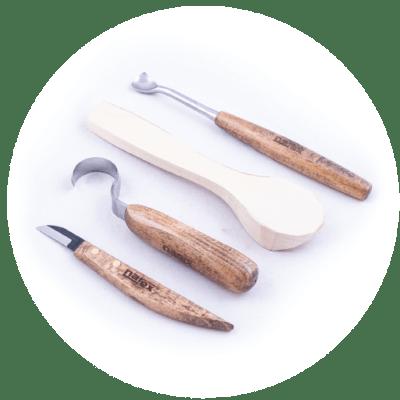 Řezbářská souprava na lžičky